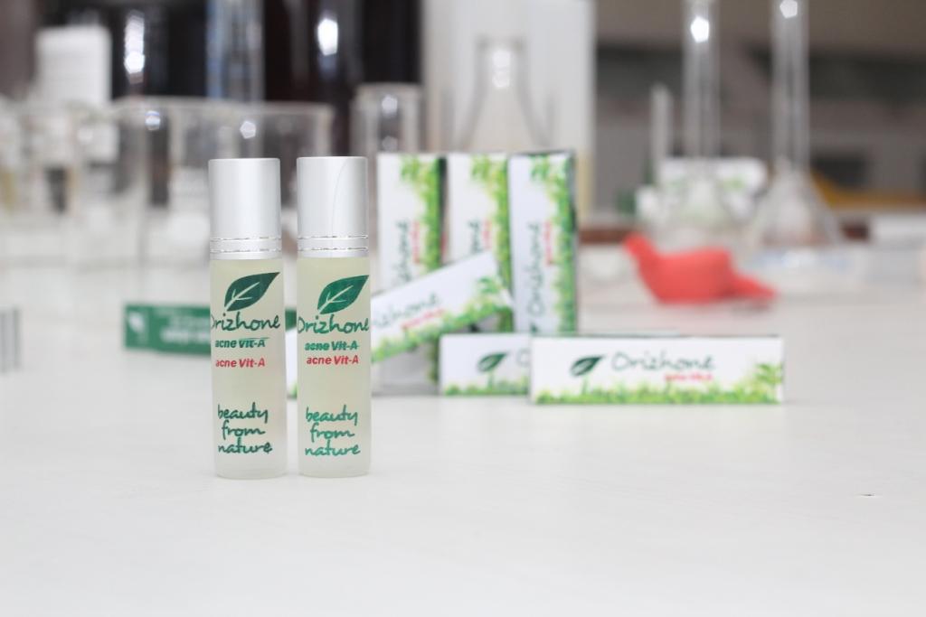 """""""Orizhone AcneVit-A"""" obat antijerawat, Produk hasil inovasi Pusat Studi Farmasi Bahari"""